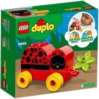 КОНСТРУКТОР LEGO DUPLO My First Моя первая божья коровка (10859)