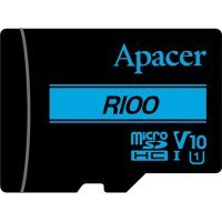 kupit-Карта памяти Apacer 32 GB microSDXC/SDHC UHS-I U1 Class 10 + SD adapter (AP32GMCSH10U6-R)-v-baku-v-azerbaycane