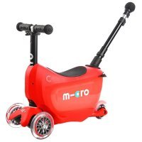 Самокат Micro Mini2go Red Deluxe Plus (MMD032)