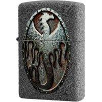 kupit-Зажигалка Zippo Metal Dragon Shield-v-baku-v-azerbaycane