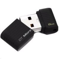 флеш память usb 8GB USB 2.0 Data Traveler Micro (DTMCK/8GB)