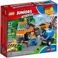 kupit-КОНСТРУКТОР LEGO Juniors Грузовик дорожной службы (10750)-v-baku-v-azerbaycane