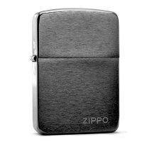 "kupit-Зажигалка Zippo ""1941 Replica"" Black Ice Finish-v-baku-v-azerbaycane"