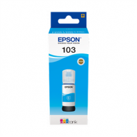 Краска для принтеров с (СНПЧ) Epson 103 Cyan EcoTank ink bottle (C13T00S24A)