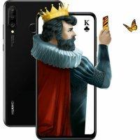 kupit-Смартфон Huawei P30 Lite / 128 GB (Black,Blue)-v-baku-v-azerbaycane