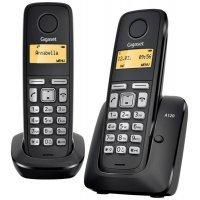 kupit-Домашний телефон GIGASET A120 DUO (Black)-v-baku-v-azerbaycane