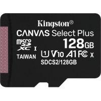 kupit-Карта памяти Kingston 128G micSD Select Pls 100R (SDCS2/128GB)-v-baku-v-azerbaycane