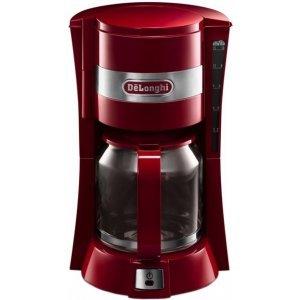 Капельная кофеварка Delonghi ICM15210.1R (Red)