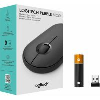 kupit-Мышка LOGITECH Pebble M350 Wireless Mouse (910-005717)-v-baku-v-azerbaycane
