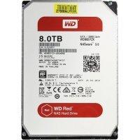 Внутренний HDD WD RED  3.5'' 8TB 7200 prm 128mb (WD80EFZX)