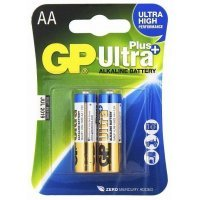 Батарейки GP battery Ultra Plus Alkaline AA(2) 15AUP-2UE2