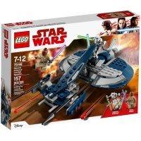 КОНСТРУКТОР LEGO Star Wars TM Боевой спидер генерала Гривуса (75199)