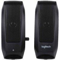 kupit-Компьютерные колонки LOGITECH Audio System 2.0 S120 / Black (980-000010)-v-baku-v-azerbaycane
