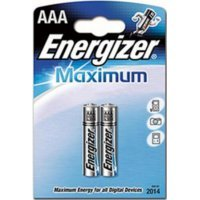 Батарейки Energizer battery Maximum AAA(2) LR03
