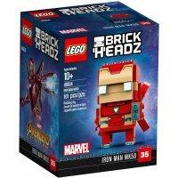 КОНСТРУКТОР LEGO BrickHeadz Железный человек MK50 (41604)