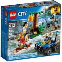 КОНСТРУКТОР LEGO City Police Убежище в горах (60171)