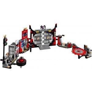 КОНСТРУКТОР LEGO Ninjago Штаб-квартира Сынов Гармадона (70640)