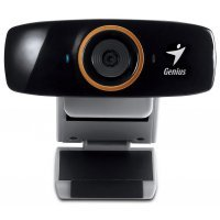 kupit-Веб Камера Genius FaceCam 1020 (HD/˙720P/AF/USB 2.0/MIC/UVC/Adjustable click) (32200010100)-v-baku-v-azerbaycane