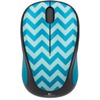 Беспроводная мышь Logitech Wireless Mouse M238 TEAL CHEVRON (910-004520)