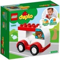 КОНСТРУКТОР LEGO DUPLO My First Мой первый гоночный автомобиль (10860)