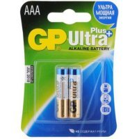 Батарейки GP battery Ultra Plus Alkaline AAA(2) 24AUP-2UE2