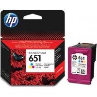 Струйный картридж HP № 651 C2P11AE (Трехцветный)