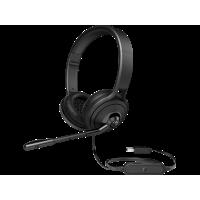 kupit-Гарнитура с микрофоном HP USB 500 Headset Black (1NC57AA)-v-baku-v-azerbaycane