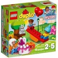 КОНСТРУКТОР LEGO DUPLO Town День рождения (10832)