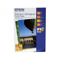Бумага Epson Premium Semigloss Photo Paper A4 (C13S041332)