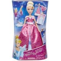 kupit-Кукла Hasbro Золушка в роскошном платье-трансформере (C0544)-v-baku-v-azerbaycane