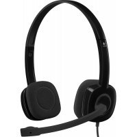kupit-Гарнитура с микрофоном Logitech Stereo Headset H151 One Plug-v-baku-v-azerbaycane