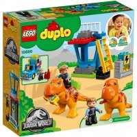 КОНСТРУКТОР LEGO DUPLO Jurassic World Башня Ти-Рекса (10880)
