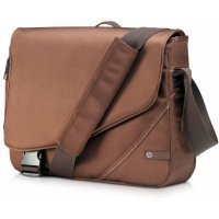 "kupit-Сумка для ноутбука HP Notebook Messenger / Brown, Nylon,  / 16"" (VZ348AA)-v-baku-v-azerbaycane"