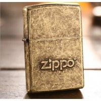 """Зажигалка Zippo """"Stamp"""" Street Chrome"""