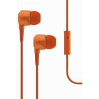 Наушники T-Tech J10 In-Ear Headphone with Microphone 3.5mm Orange