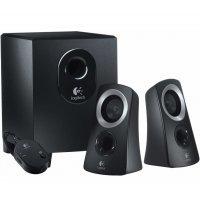 Компьютерные колонки LOGITECH Audio System 2.1  Z313 / Black (980-000413)