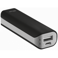 kupit-Портативное зарядное устройство (Power Bank) Trust Primo Powerbank 2200 Portable Charger, Black (21221)-v-baku-v-azerbaycane