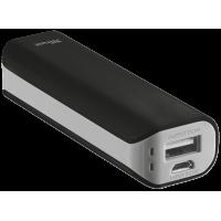 Портативное зарядное устройство (Power Bank) Trust Primo Powerbank 2200 Portable Charger, Black (21221)