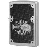 Зажигалка Zippo Harley Davidson Carbon Fiber