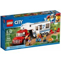 КОНСТРУКТОР LEGO City Great Vehicles Дом на колесах (60182)