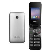 kupit-Мобильные телефон Alcatel 2051D Silver-v-baku-v-azerbaycane