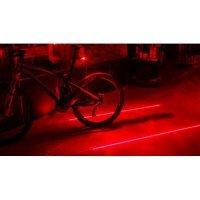 kupit-Задний красный фонарь - лазер для велосипеда-v-baku-v-azerbaycane