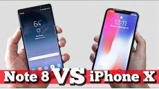 Сравнение: iPhone X vs Note 8 в Баку. Что брать?