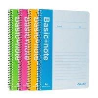 kupit-блокнот Deli Basic+Note на спирали 40 листов A5 76-v-baku-v-azerbaycane