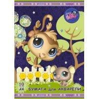 kupit-бумага Academy для акварели 10 листов А4 LPS56,LPS-v-baku-v-azerbaycane
