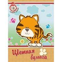 kupit-бумага Academy 16 листов А4 16 цветов 8773-v-baku-v-azerbaycane