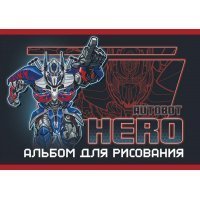 kupit-альбом для рисования Academy Transformers 20 листо-v-baku-v-azerbaycane