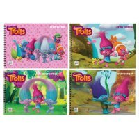 kupit-альбом для рисования Keskin Color Trolls 15 листов-v-baku-v-azerbaycane
