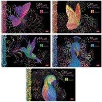 kupit-Альбом для рисования Hatber Мозаика 40 листов А4 2-v-baku-v-azerbaycane