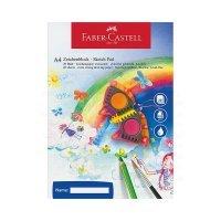 kupit-альбом для рисования Faber Castell 20 листов А4 100гр 212046-v-baku-v-azerbaycane